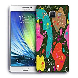 Snoogg Sea World Green Pattern Designer Protective Phone Back Case Cover For Samsung Galaxy ON5