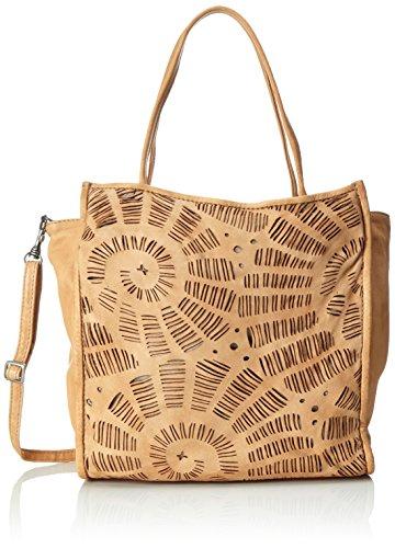 Caterina Lucchi  Maestrale, sac bandoulière femme - beige - Beige (Corda), 14x10x28 cm (B x H x T)