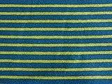 Qualitativ hochwertiger Jersey Stoff mit schmalen Streifen