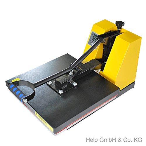 HELO Transferpresse 38 x 38 cm Standard mit Druckausgleichsfedern und verbesserter Hebeltechnik - 6