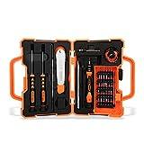 CouHap - Set di cacciaviti 41 in 1 con custodia professionale per riparazioni elettroniche, per iPhone, cellulari, iPad, MacBook, computer, PC, tablet