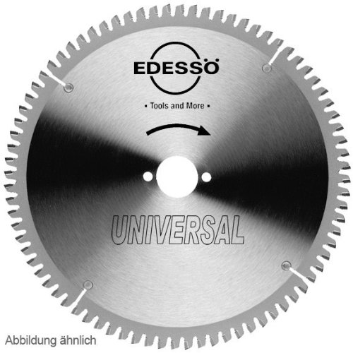 Edessö 18021030 HM-Kreissägeblatt Präzision-Universal 2/7/42 HW 210x2,8/2,2x30 Z=54 TF, Silber