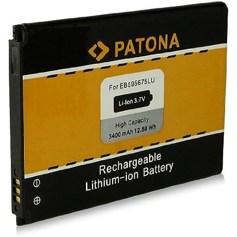 Batería EB595675LU para Samsung Galaxy GT-N7100 Note II   Galaxy Note 2 y mucho más… [ Li-ion, 3400mAh, 3.7V ]
