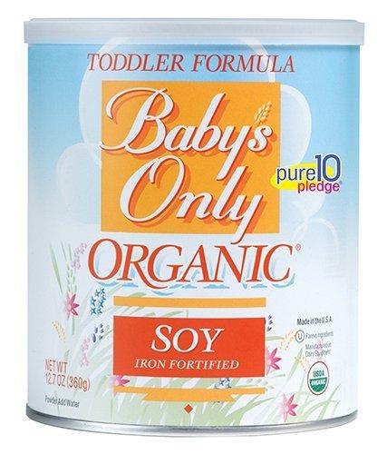 Baby's Only Soja Organic Kleinkinder Formel, 12.7-ounce Kanister FlavorName: Soja, Modell: 101873, für Neugeborene und Baby Netzteil