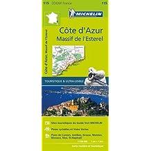 Côte d'Azur, massif de l'Esterel : 1/100 000