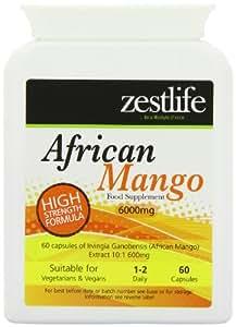 africains Mango 60 Capsules   Haute résistance (6000mg) 100% Pure     Régime / Minceur pilules de perte / Poids   Prime GMP Supplément (Haute Qualité Fat Burner)