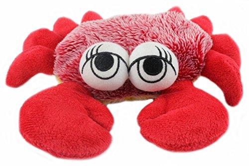 Preisvergleich Produktbild Plüschtier Krabbe mit großen Augen, rot, 16x20cm Kuscheltier, Schmusetier (2801451)