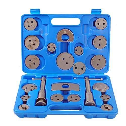 AllRight 22 tlg Bremskolbenrücksteller Satz Bremskolben Rücksteller KFZ Werkzeug