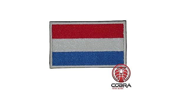 Cobra Tactical Solutions US Navy Seals Special Ops Flagge Bestickt Patch gr/ün Schwarz mit Klett Airsoft