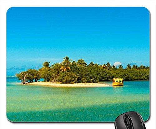 Bon Accord lagoon, Tobago. Mouse Pad, Mousepad (Beaches Mouse (Accord Computer)