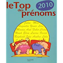 Le Top des prénoms 2010