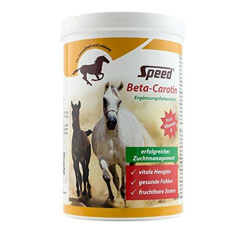 Speed Beta-Carotin – Förderung der Bildung von Fruchtbarkeitshormonen bei Stuten und Hengsten (750 g)