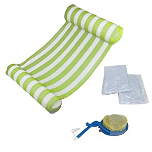 Aufblasbares schwimmendes Bett, sich hin- und herbewegendes Sofa schwimmende Auflage schwimmende Auflage aufblasbare Swimmingpool-Luft-Licht-sich hin- und herbewegender Stuhl kompakte bewegliche.