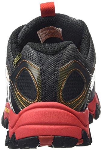 Merrell - Grassbow Sport Gtx, Scarpe da Arrampicata Basse Uomo Nero (Black/Red)