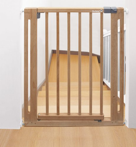 Safety 1st easy close wood cancelletto sicurezza per for Cancelletto sicurezza bambini