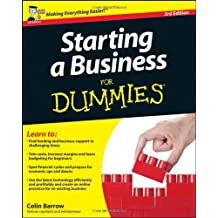 Starting a Business For Dummies by Colin Barrow (2011-06-07)