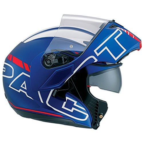 AGV Casco Moto Compact ST E2205Multi plk, Seattle Matt Blue/White/Red, XS