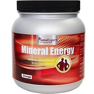 SanaExpert Mineral Energy, Isotonisches Sportgetränk mit Elektrolyten, Vitaminen und Mineralien, Getränkepulver, 1100g