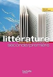Littérature, seconde-première : toutes séries