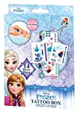 Craze 55381 - Tattoo Box Disney Frozen, 14 Bögen, sortiert