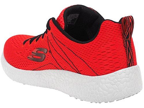 Skechers - Memory foam rouge - Chaussures multisport Rouge