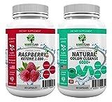 SUPERPACK! - Super Raspberry Ketone 2000 + Detox colon cleanse 6000+. US Original von ScientyLabs 2.000mg Raspberry Ketone + aktuell stärkster SL colon cleanser