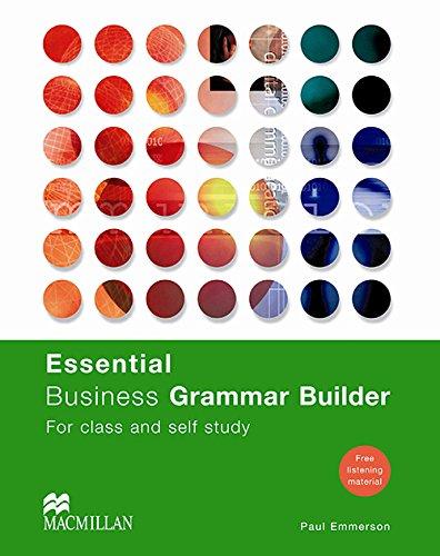 ESSENTIAL BUSINESS GRAMMAR BUILDER Pk: Student's Book (Business Builder)
