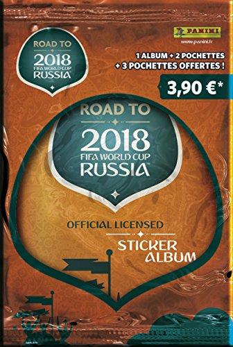 Panini France SA - Road To World Cup 2018 Album + 5 Pochettes, 2314-016, Non