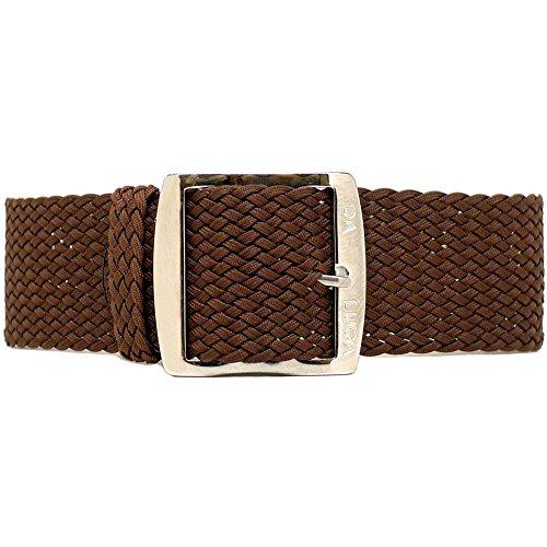 Daluca Perlon, colore: marrone (fibbia): 18mm