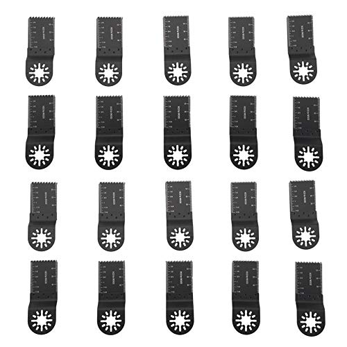 20 PCS Multifunctional Saw Blades Durable Oscillating Multi Tool For Fein For Bosch Woodworking Cutter Set Tool Accessory