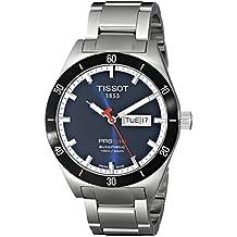 Tissot PRS516 T0444302104100 - Reloj de mujer de cuarzo, correa de acero inoxidable color gris