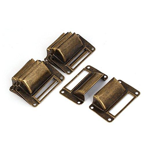 Preisvergleich Produktbild 10 Stück Bronze Muschelgriff Schubladengriff Türgriff Etikettenrahmen Schrankgriff