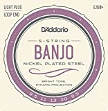 D\'Addario EJ60PLUS Cordes pour Banjo