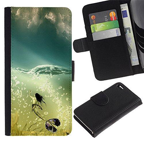 Graphic4You Niedlich Plastic Stars Design Brieftasche Leder Hülle Case Schutzhülle für Apple iPhone 4 und 4S Design #20