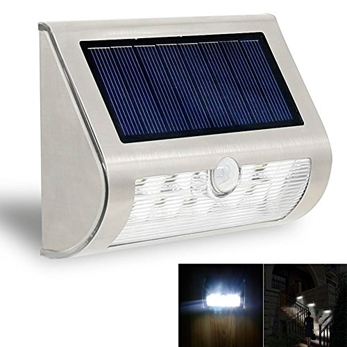 Single Zaun (G18-Single LED PIR Solar Yard Terrasse Weg Zaun Wand Treppe Lampe Solar Garten Smart Light)