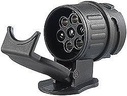 Lissek Adapter für PKW und Anhänger 13 Polig auf 7 Polig (Adapter/Anhängerkupplung von 13-Pin Auto auf 7-Pin Anhänger)