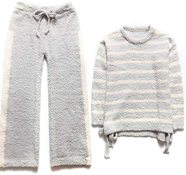 ... Meaeo Pigiama Set da Pigiama Medicazione per Dormire Pigiami Vestiti  Homewear da Notte Homewear Vestiti Morbide b4f5838c69d