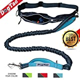 DogTao Running Dog Lead For Medium and Large Dogs - Hands-Free Dog Walking Belt with Waterproof Pouch