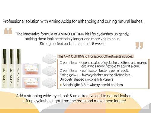 Amino Lift (AMINO Lash Lift Wimpernlifting Set - Starter Kit - Wimpernwelle - Wimpernlaminierung (Komplettes Kit))