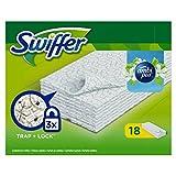 Swiffer Dry 18 Panni Profumati Catturapolvere alla Freschezza di Ambipur