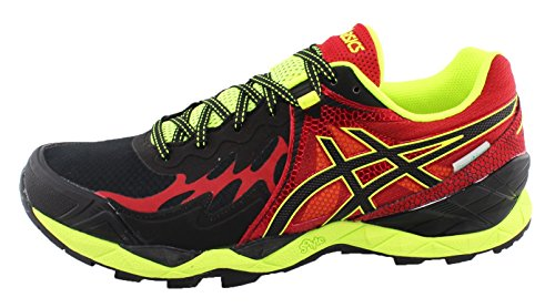 asics-gel-fujiendurance-plasmaguard-mens-12-usa-black-onyx-racing-red