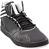 adidas Originals Men's Crestwood Mid Fashion Sneaker Black/White, 11.5 M US