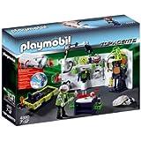 Playmobil - 4880 - Jeu de construction - Laboratoire du Robo-Gang et lampe multifonctions