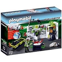 Playmobil - Top Agents laboratorio de gánsters con linterna (4880)