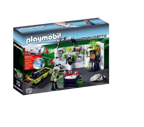 Playmobil - Top Agents laboratorio gánsters linterna