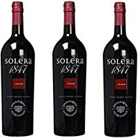 Solera 1847 Cream - Vino D.O. Jerez - 3 botellas 1000 ml - Total: 3000 ml
