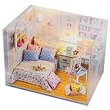 Generic New Kits Diy Wood Dollhouse Mini...