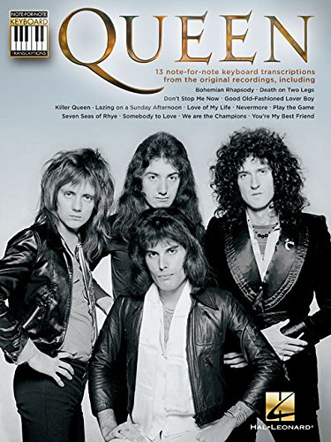 Queen: Note-For-Note Keyboard Transcriptions por From Hal Leonard Europe