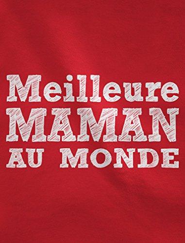 Meilleure Maman au Monde - maman Sweatshirt Femme Noir