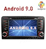 Freeauto Android 9.0 Autoradio In-dash perAudi A3 S3 Multi Touch Screen Auto Stereo Radio Lettore DVD GPS